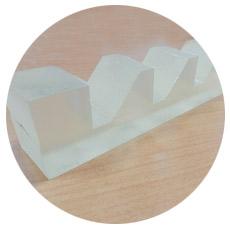 Гидроабразивная резка полиуретана