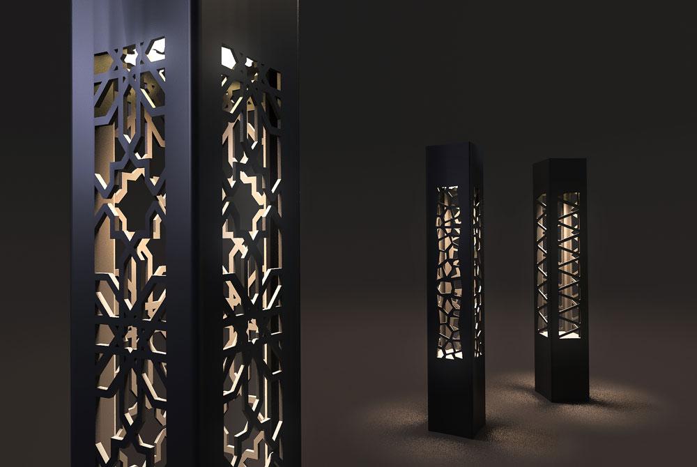 Декоративные уличные фонари