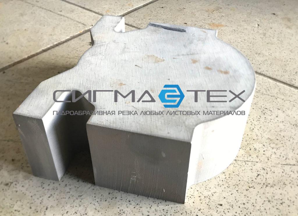 Гидроабразивная резка алюминия 50 мм